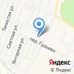 Кадастровый инженер Рошаль Л.В. на карте Гурьевска