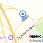 САРТЭК на карте Гурьевска