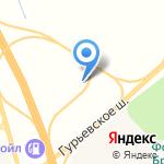 Американская автомойка на карте Гурьевска