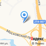 Банкомат на карте Калининграда