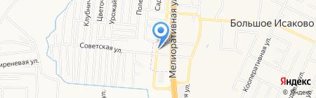 Областная станция по борьбе с болезнями животных на карте Большого Исаково