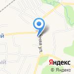 Магазин бытовой химии на карте Гурьевска