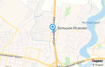 Местоположение на карте пункта техосмотра по адресу Калининградская обл, Гурьевский р-н, п Большое Исаково, ул Советская, д 8