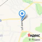 Киоск по продаже молочной продукции на карте Гурьевска