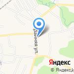 Продовольственный магазин на карте Гурьевска