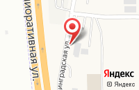 Схема проезда до компании Жестянщик в Большом Исаково