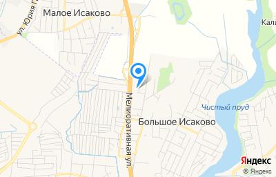 Местоположение на карте пункта техосмотра по адресу Калининградская обл, Гурьевский р-н, п Большое Исаково, ул Калининградская, д 37А