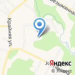 Аленка на карте Гурьевска