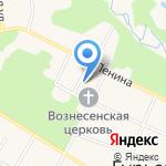 СакСеС на карте Гурьевска