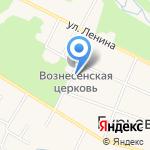 Магазин по продаже молочной продукции и яиц на карте Гурьевска