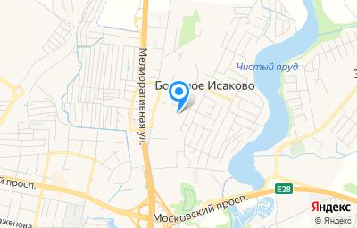 Местоположение на карте пункта техосмотра по адресу Калининградская обл, Гурьевский р-н, п Большое Исаково, ул Геологическая, д 1