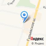 КСТ-Запад на карте Гурьевска