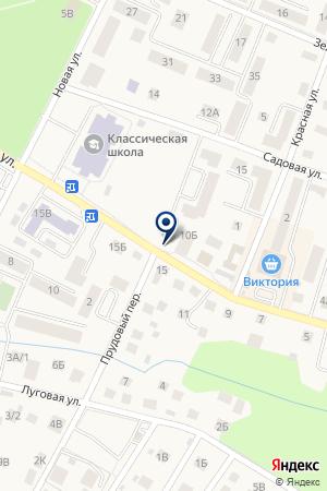 КАЛУЖСКАЯ СРЕДНЯЯ ОБЩЕОБРАЗОВАТЕЛЬНАЯ ШКОЛА на карте Советска