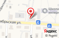 Схема проезда до компании У Барбоса в Большом Исаково