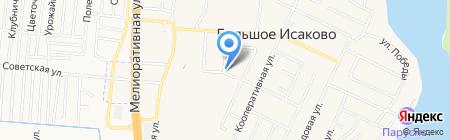 Продуктовый магазин на карте Большого Исаково