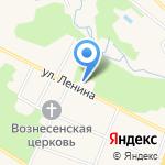 Фламинго на карте Гурьевска