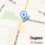 Автомагазин на карте Гурьевска
