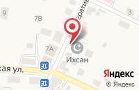 Схема проезда до компании Калининградский региональный общественно-мусульманский центр в Большом Исаково