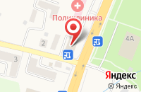 Схема проезда до компании МебельСити в Гурьевске