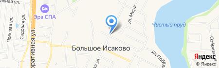 Больше-Исаковская врачебная амбулатория на карте Большого Исаково