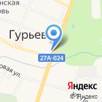 Пресса на карте Гурьевска
