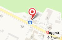 Схема проезда до компании КОНТАКТ в Гурьевске