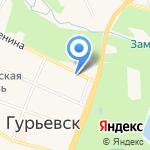 УФСИН России по Калининградской области на карте Гурьевска