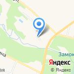 Берлинки на карте Гурьевска