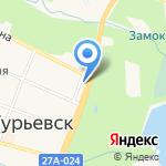 Компания по выполнению высотных работ на карте Гурьевска