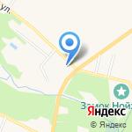 Одор на карте Гурьевска