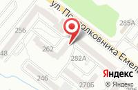 Схема проезда до компании Велоприцепы в Калининграде