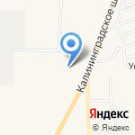 Эйкос Балт на карте Гурьевска
