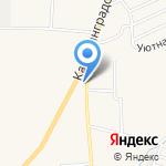 Орион на карте Гурьевска