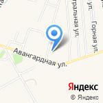 Фабрика по изготовлению спецодежды и обуви на карте Гурьевска
