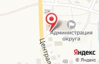 Схема проезда до компании Микс в Луговом