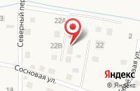 Схема проезда до компании Калининградский пансионат в Рощино