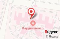 Схема проезда до компании Федеральный центр сердечно-сосудистой хирургии г. Калининграда в Прибрежном