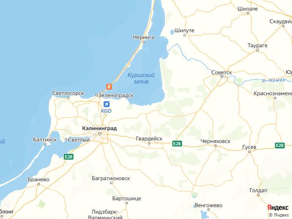поселок Трудовой на карте