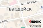 Схема проезда до компании Vape Shop в Гвардейске