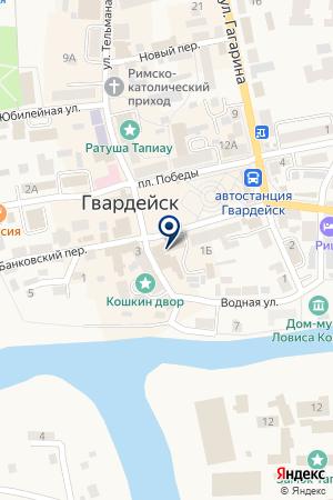 МЕБЕЛЬНЫЙ МАГАЗИН БОЙКО А.Ф. на карте Гвардейска