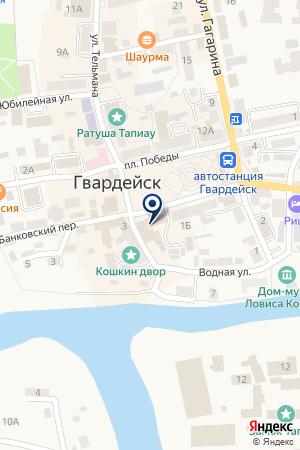 МАГАЗИН СВЕТОТЕХНИКИ АЛЬТАИР-СВЕТ на карте Гвардейска