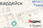 Схема проезда до компании Банкомат, Бинбанк в Гвардейске