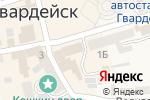 Схема проезда до компании Московская ярмарка в Гвардейске
