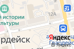 Схема проезда до компании Почта Банк в Гвардейске