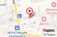 Схема проезда до компании Мк-Строй в Гвардейске