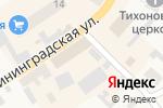Схема проезда до компании Строитель в Полесске