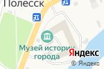 Схема проезда до компании Цирюльня в Полесске
