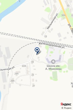 ЗНАМЕНСКИЙ ЛЕСХОЗ на карте Гвардейска