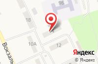 Схема проезда до компании Цветторг в Славске