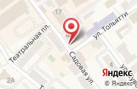 Схема проезда до компании Арден в Черняховске
